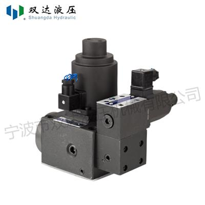Proportional Electrohydraulic Relief And Flow Control Valve