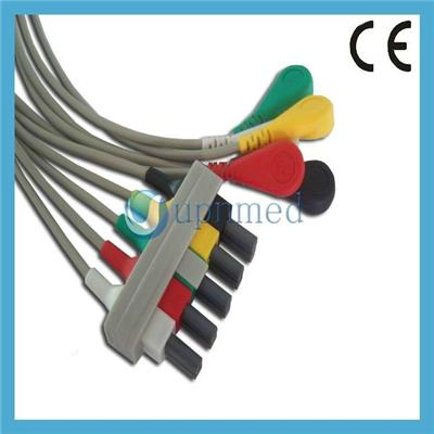 M1635A/M1625A/M1623A Philips Compatible ECG Lead Wire Sets