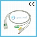 M1672A M1671A Philips Compatible ECG Lead Wire Sets