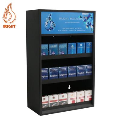 Metal Cigarette Display With Pusher