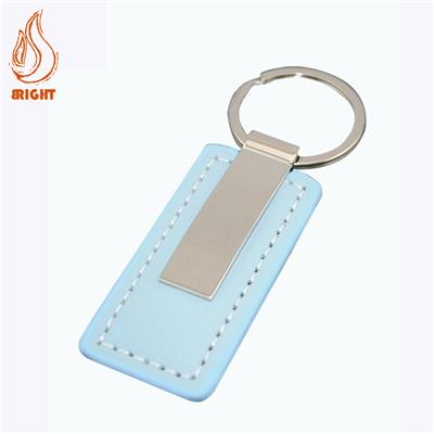 High Quality Custom Logo Leather Key Chain