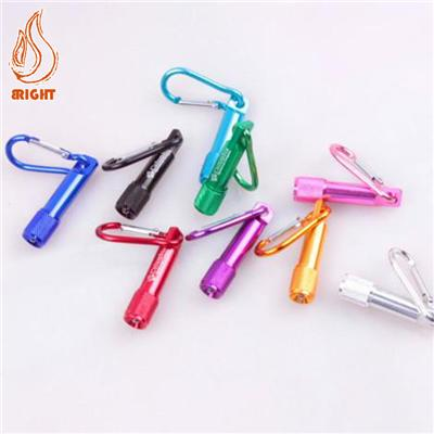 Mini Torch Aluminum LED Flashlight Key Chain