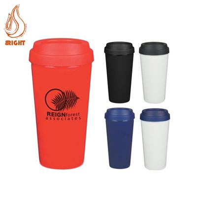 Customized Safe Plastic PP Travel Mug For Promotion