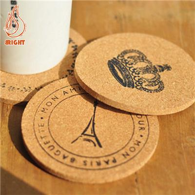 Promotional Cork Coasters Logo Printed