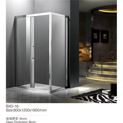 Stainless Steel Shower Room
