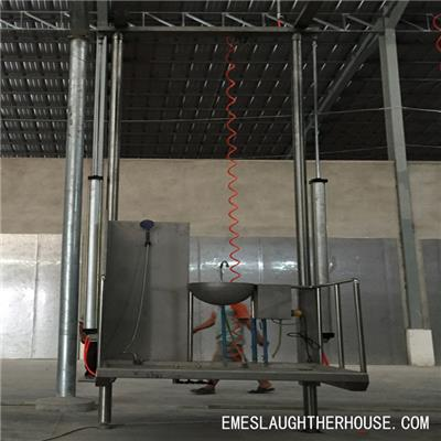 Cattle Abattoir Dual-Pillar Pneumatic Elevator