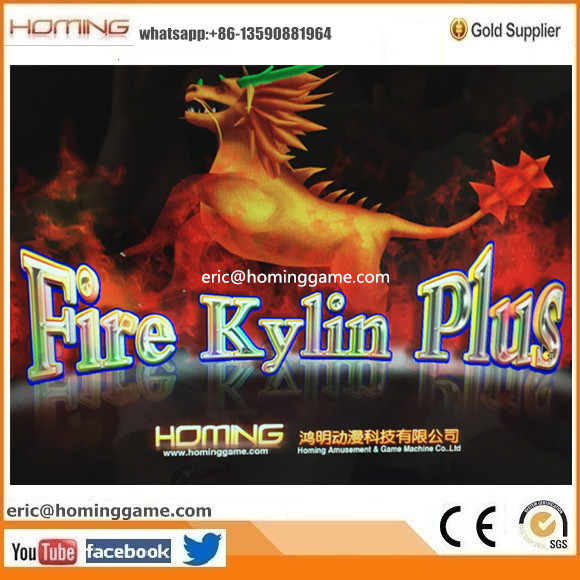 Golden Legend/ Ocean King Fire Kylin PLus Fishing Game Machine 100% English version (eric@hominggame.com)
