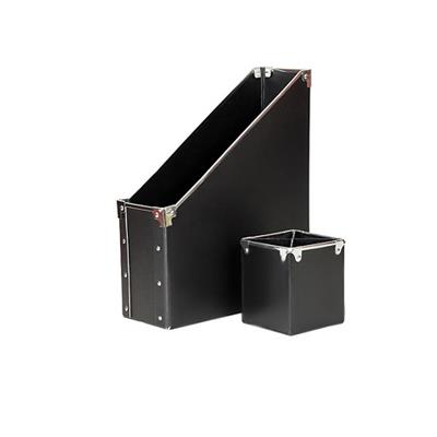 PU Leather Office Storage Box