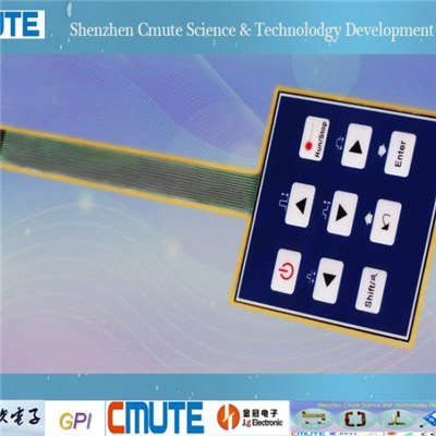 Waterproof Membrane Switch GPI-WPMS-001