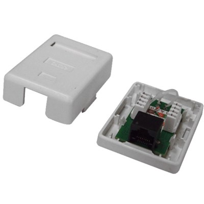Wall Socket 1 Port With UTP Cat5e PCB Module