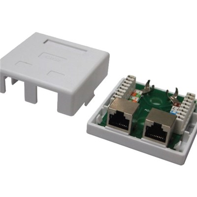 Wall Socket 2Port With STP Cat5e PCB Module