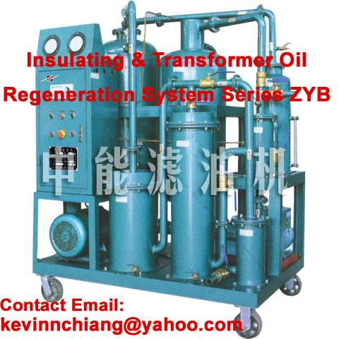 Sell Highly Effective Vacuum Oil Purifier/ Oil Regeneration System/ Oil Filter