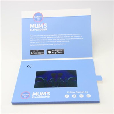 Digital Video Player Greeting Cards