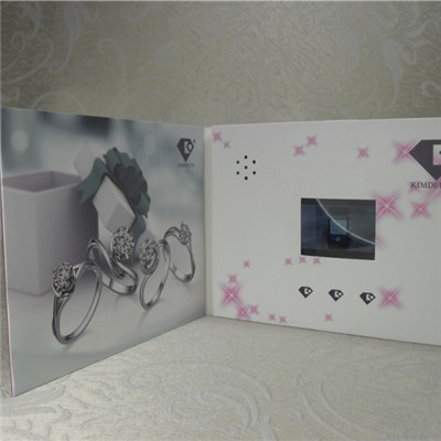 A6 Video Greeting Card