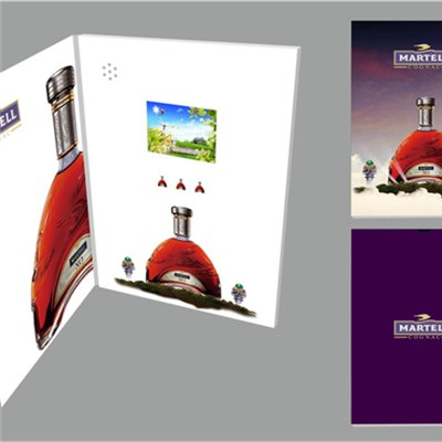 Tft LCD Screen Video Greeting Card
