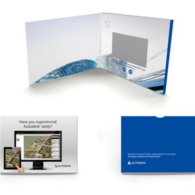 Hardcover 5 Video Greeting Card