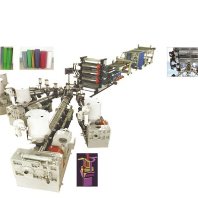 PE PP ABS PS PMMA ASA HIPS Mono Or Multi Layer Sheet Production Line
