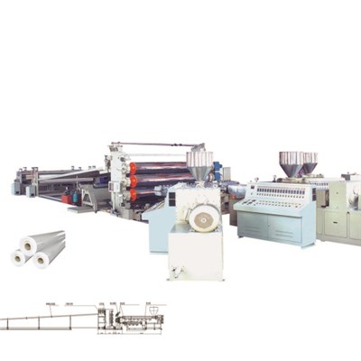 PVC EVA PE TPO Mono Or Multi Layer Sheet Production Line