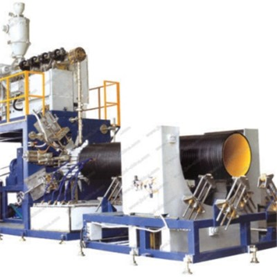 HDPE Large-Diameter Hollowness Wall Winding Pipe Production Line