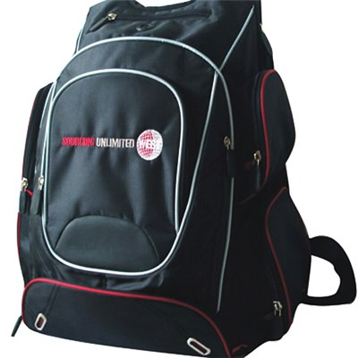 Digital Enthusiast''s Backpack With 10 Pockets