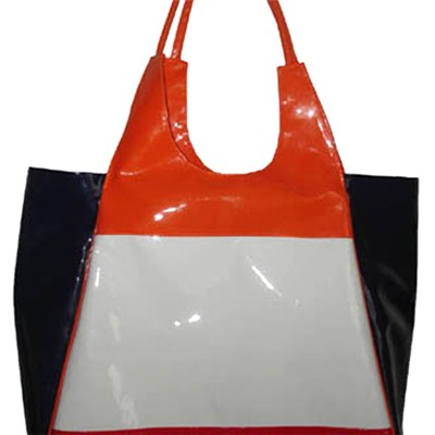 Colourful Vanish Leather Tote Bag