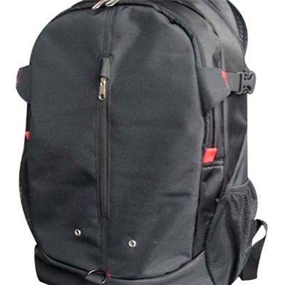 Leisure With Zipper Pockets Laptop Backpack