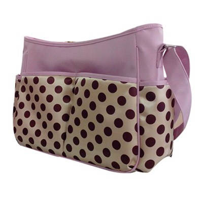 Microfiber And Satin Baby Bag