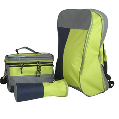 Diaper Backpack With Cooler