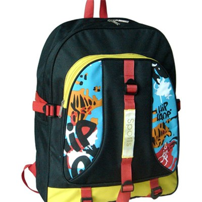 Colourful Printed Mulifunction Backpack Sports Bag