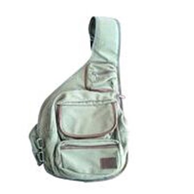 Canvas Sling Bag With Single Shoulder Strap