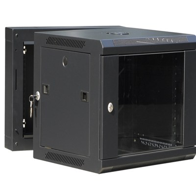 Double Section Wall Cabinet 15U Cabinet