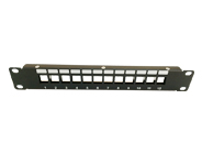 FTP Blank Patch Panel 12 Ports 30CM Long ( Back Bar Is Optional)