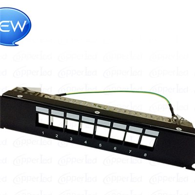 FTP Blank Patch Panel 8 Port (Suit To Load Cat.5e/Cat.6/Cat.6A
