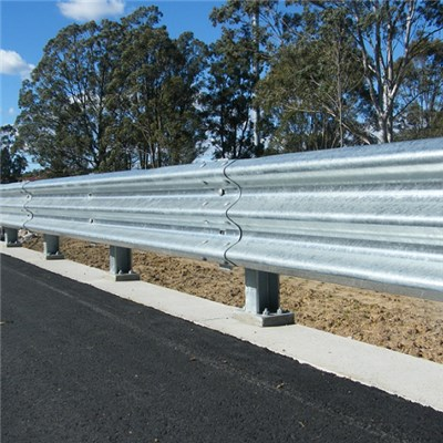 Three Beam Guardrail