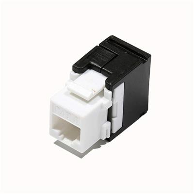 UL Verified High Performance 8P8C RJ45 Cat6 Toolless Keystone Jack