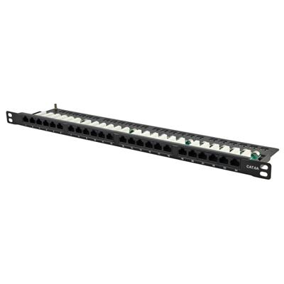 UTP 0.5u Cat.6A Patch Panel 24Port