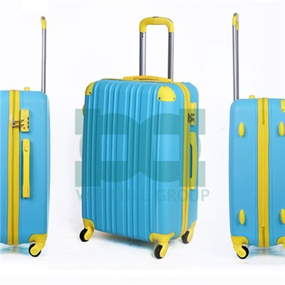 Colorful Fashion ABS Hard Shell Luggage Set