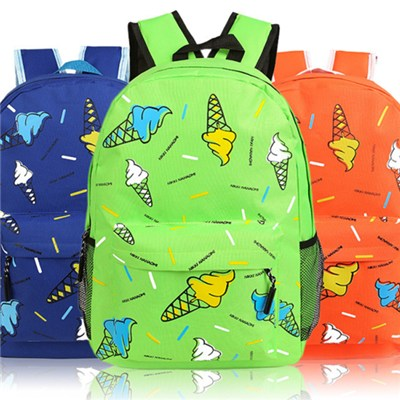 Printed School Backpack,Printed Shcool Bag, CP15012