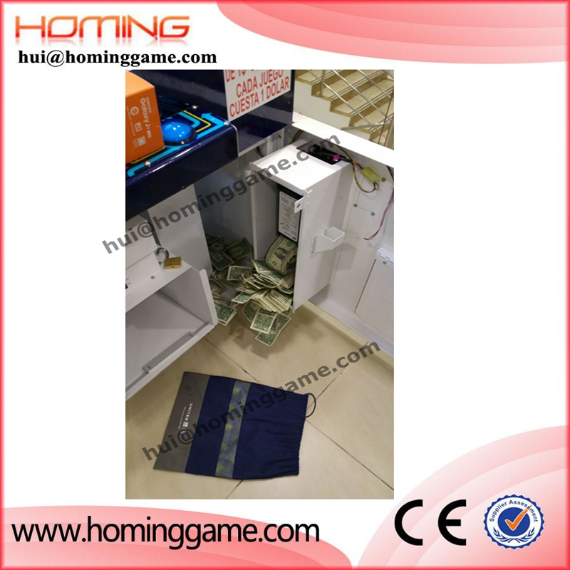 Good quality coin operated game machine,key master prize vending machine for