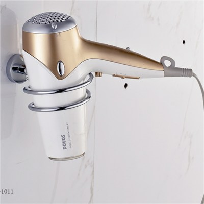 Brass And SS Hair Drier Holders For Bathroom