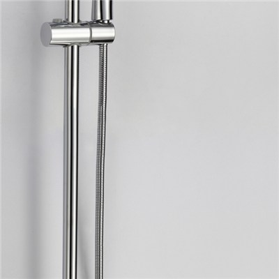 Brass Single Handle Rainfall Faucet Shower Sets