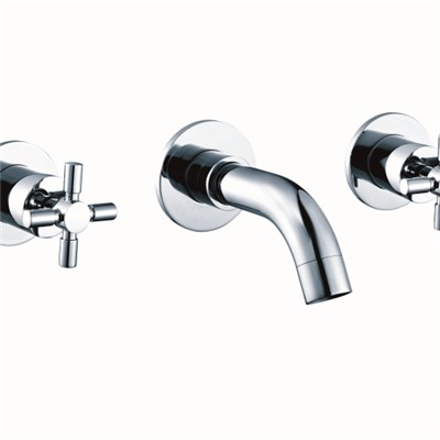 Solid Brass Concealed Basin Faucets