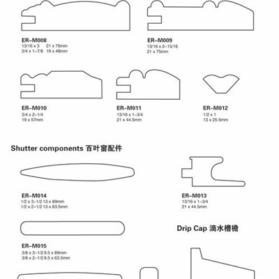 Shutter Components