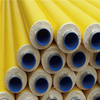Polyurethane Black Or Yellow Jacket Insulation Pipes