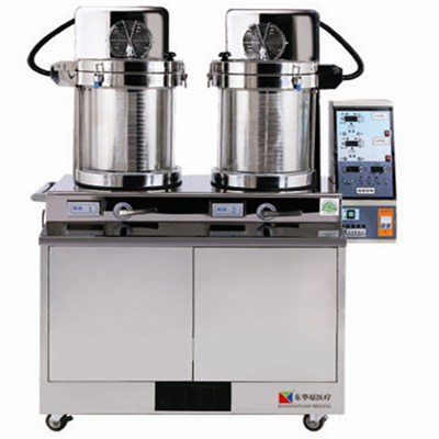 Integrated Machines With Double Cycling Decocting And Packaging Machines