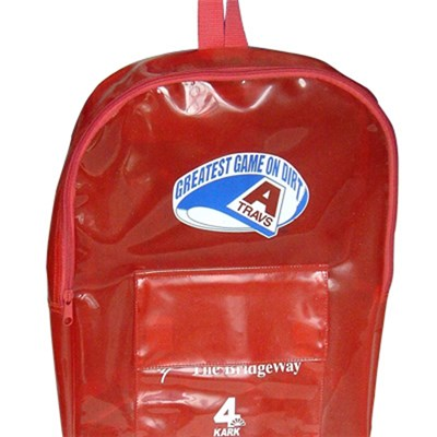 45c Printing Transparent PVC Backpack With Front Pocket