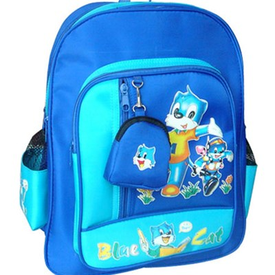 Micro Fiber School Backpack With Printing Pattern