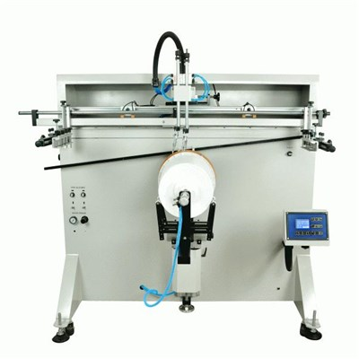 Pneumatic Cylindrical Screen Printer