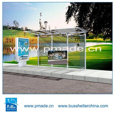high quality stainless steel bus shelter