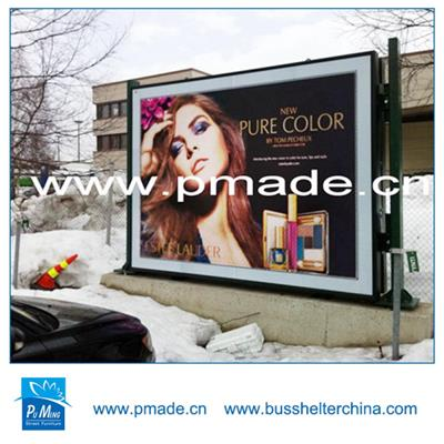 led advertising scrolling light box for display
